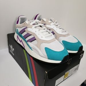 Adidas Originals Tresc Run White Purple Size 11.5